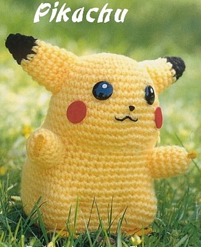 FREE KNITTING PATTERN FOR PIKACHU - VERY SIMPLE FREE KNITTING PATTERNS